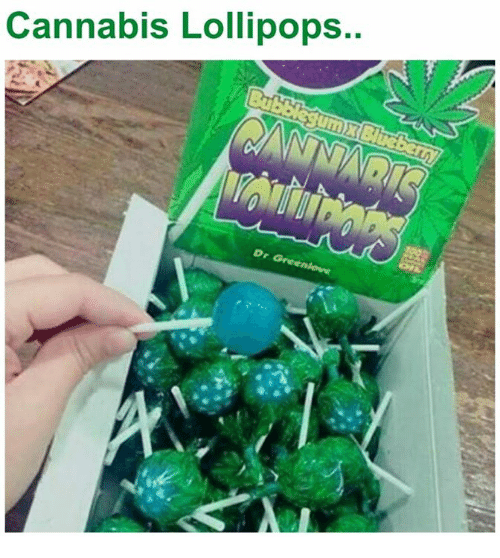 Cannabis: Cannabis Lollipops