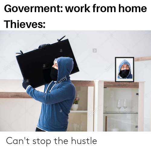 hustle: Can't stop the hustle