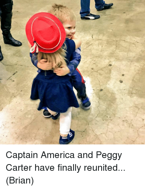 Peggy Carter Captain America Reunion