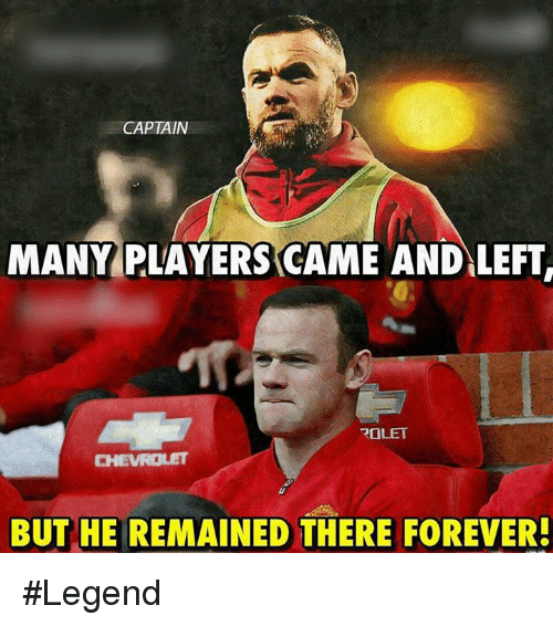 Memes, Forever, and 🤖: CAPTAIN  MANY PLAYERS CAME AND LEFT  ROLET  BUT HE REMAINED THERE FOREVER! #Legend