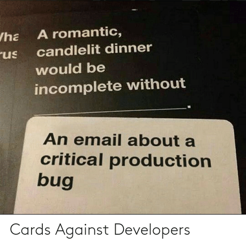 cards: Cards Against Developers