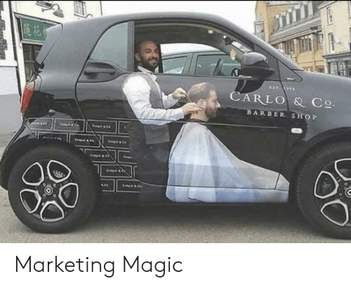 Barber Shop: CARLO & C  BARBER SHOP Marketing Magic