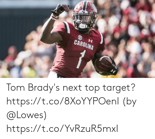 Lowes: CAROLINA Tom Brady's next top target? https://t.co/8XoYYPOenI (by @Lowes) https://t.co/YvRzuR5mxI