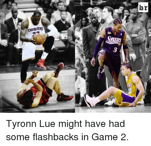 Cavaliers: CAVALIERS  hr Tyronn Lue might have had some flashbacks in Game 2.