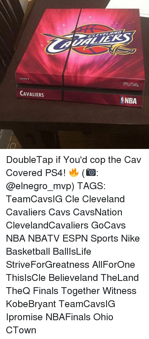 cav: CAVALIERS  $NBA DoubleTap if You'd cop the Cav Covered PS4! 🔥 (📷: @elnegro_mvp) TAGS: TeamCavsIG Cle Cleveland Cavaliers Cavs CavsNation ClevelandCavaliers GoCavs NBA NBATV ESPN Sports Nike Basketball BallIsLife StriveForGreatness AllForOne ThisIsCle Believeland TheLand TheQ Finals Together Witness KobeBryant TeamCavsIG Ipromise NBAFinals Ohio CTown