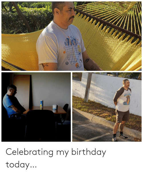 Birthday: Celebrating my birthday today…