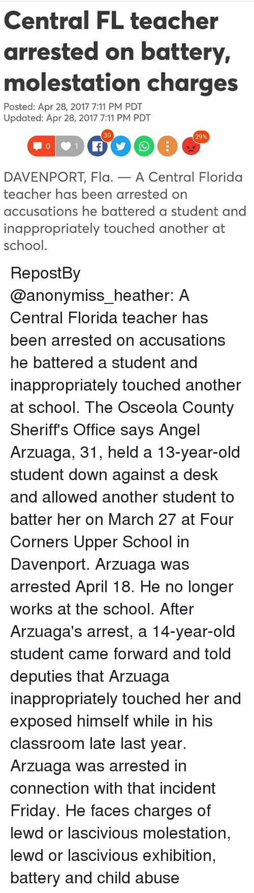 Florida dating violence battery charges