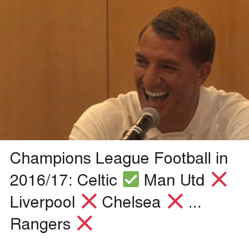 Funny Celtic and Soccer Memes of 2016 on SIZZLE
