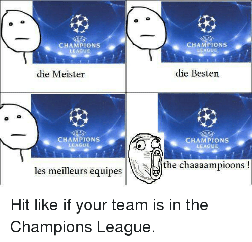 die champions league