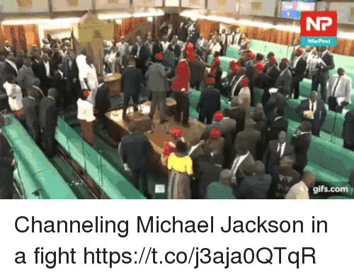 Michael Jackson, Michael, and Fight: Channeling Michael Jackson in a fight https://t.co/j3aja0QTqR