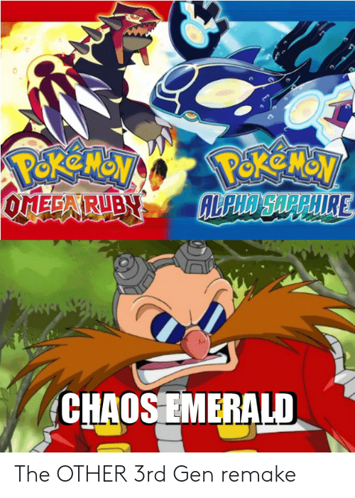 emerald: CHAOS EMERALD The OTHER 3rd Gen remake