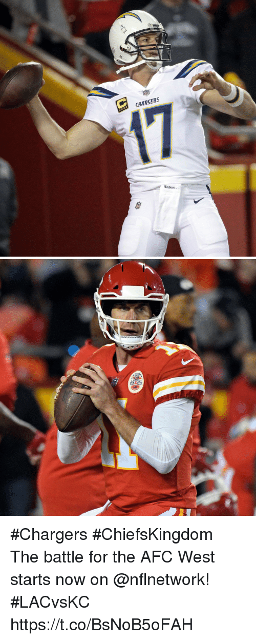 Memes, Chargers, and 🤖: CHARGERS  Dison #Chargers #ChiefsKingdom  The battle for the AFC West starts now on @nflnetwork! #LACvsKC https://t.co/BsNoB5oFAH