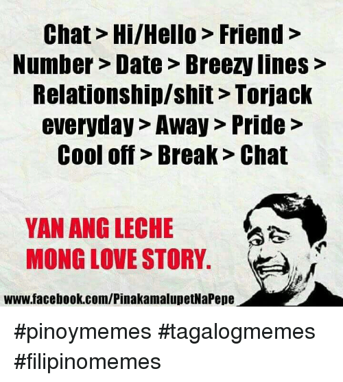 Funny Filipino  Language   Love  and Shit Memes of      on SIZZLE Dating  Friends  and Hello  Chat Hi Hello Friend Number Date Breezy lines