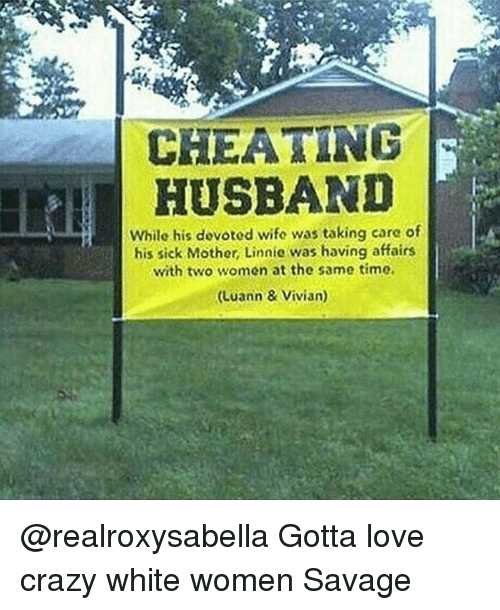 CHEATING HUSBAND While His Dovoted Wife Was Taking Care Of