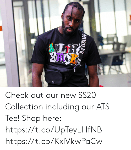 tee: Check out our new SS20 Collection including our ATS Tee!   Shop here: https://t.co/UpTeyLHfNB https://t.co/KxlVkwPaCw