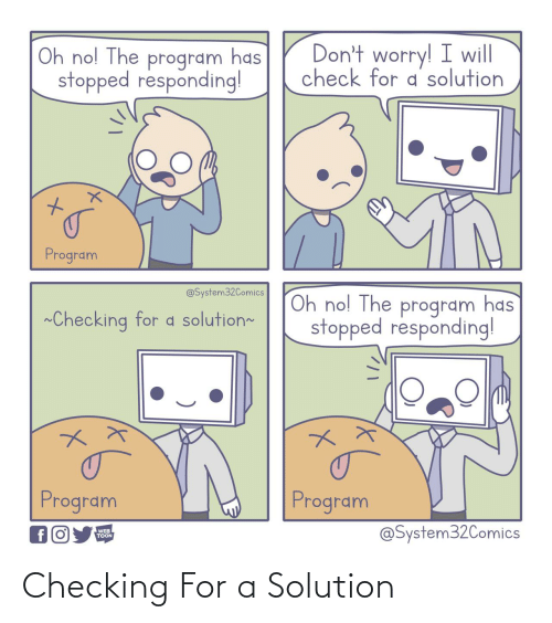 solution: Checking For a Solution