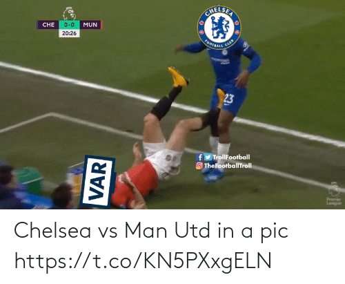 man utd: Chelsea vs Man Utd in a pic https://t.co/KN5PXxgELN