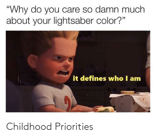 Priorities: Childhood Priorities