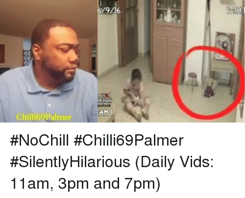 Memes, 🤖, and Amy: Chill 69 Palmer  AMI  1713 #NoChill  #Chilli69Palmer  #SilentlyHilarious  (Daily Vids:  11am, 3pm and 7pm)