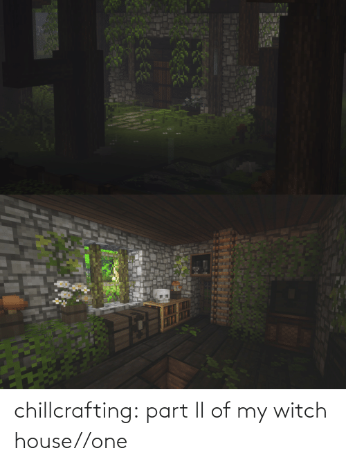 witch: chillcrafting:  part ll of my witch house//one