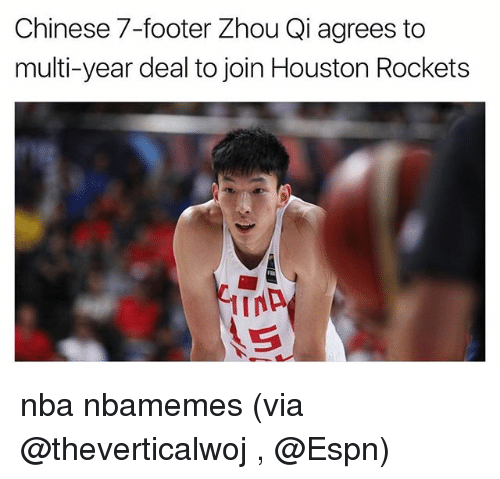 Rockets Zhou Qi Injury: 25+ Best Memes About Houston