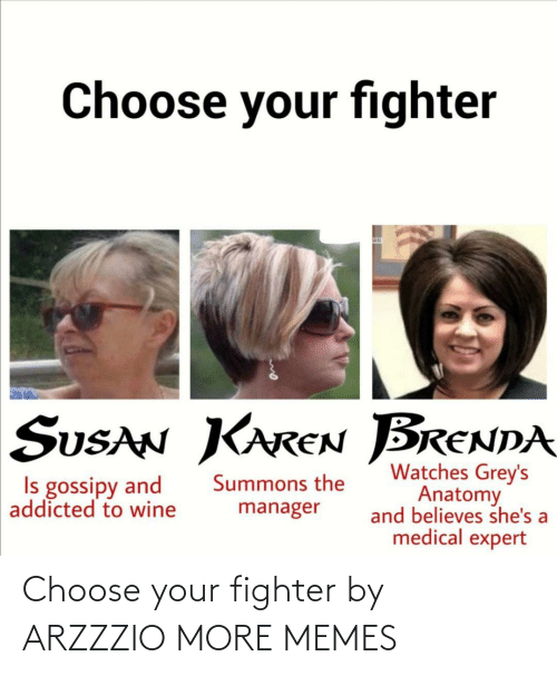 fighter: Choose your fighter by ARZZZIO MORE MEMES