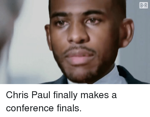 Chris Paul, Finals, and Paul: Chris Paul finally makes a conference finals.