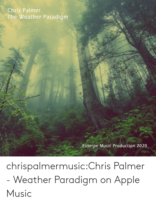 The Weather: chrispalmermusic:Chris Palmer - Weather Paradigm on Apple Music