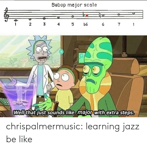 jazz: chrispalmermusic:  learning jazz be like