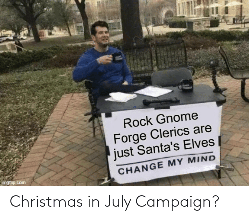 july: Christmas in July Campaign?