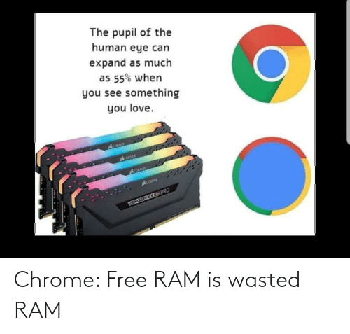 ram: Chrome: Free RAM is wasted RAM