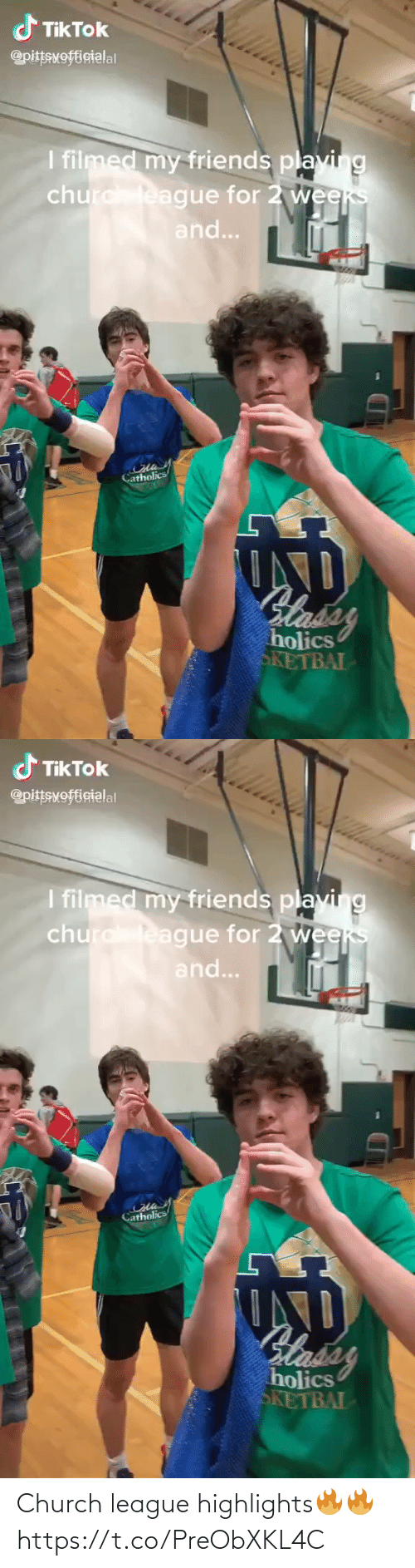 Church: Church league highlights🔥🔥 https://t.co/PreObXKL4C