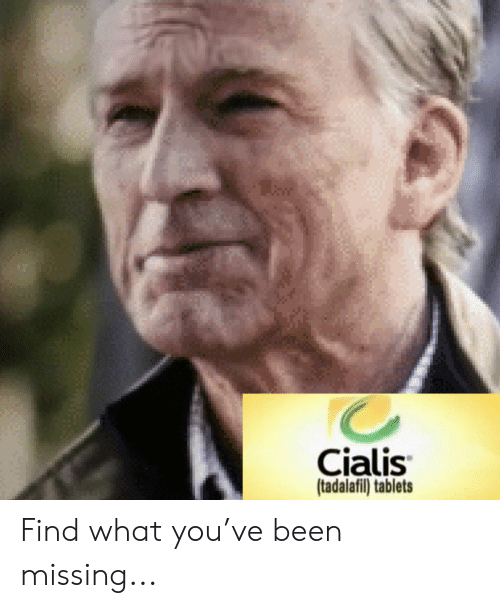 cialis: Cialis  (tadalafil) tablets Find what you've been missing...