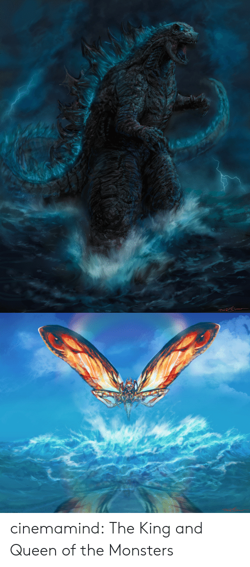 Queen Of: cinemamind:  The King and Queen of the Monsters
