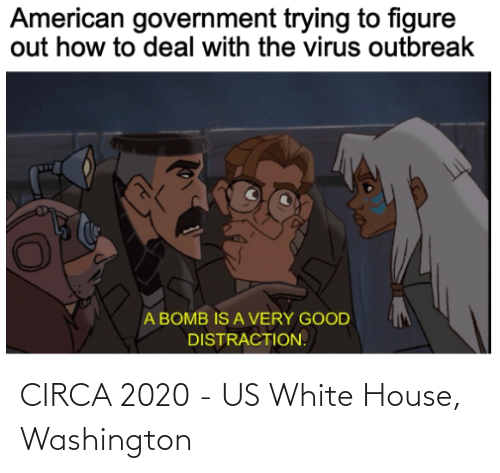 White House: CIRCA 2020 - US White House, Washington