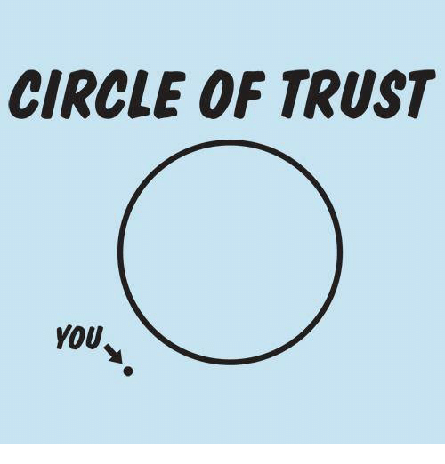 Memes, Circles, and 🤖: CIRCLE OF TRUST  YOU