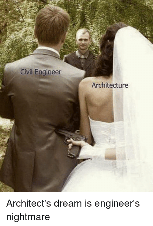 architect and engineer relationship problems