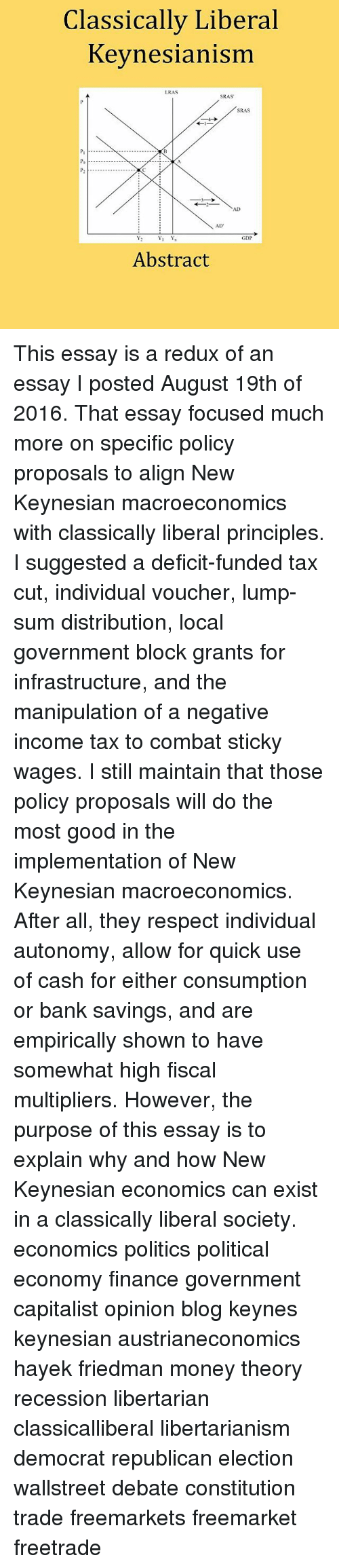 finance meme classically liberal keynesianism lras sras sras ad finance memes and recess classically liberal keynesianism lras sras sras ad gdp abstract