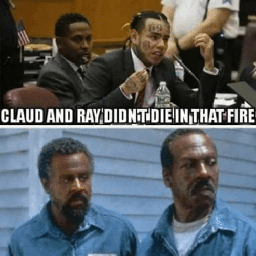 Claud: CLAUD AND RAY DIDNTDIEINTHAT FIRE