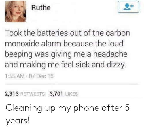 5 Years: Cleaning up my phone after 5 years!