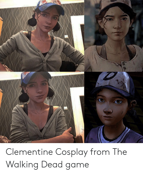 the walking: Clementine Cosplay from The Walking Dead game