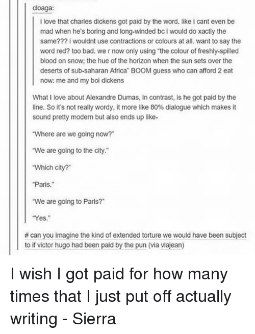 Pay for writing lovers