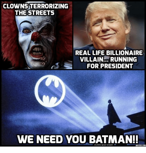 Running for president we need you batman funny sexy stuff adotelcom