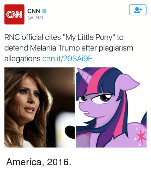 CNN CNN RNC Official Cites My Little Pony to Defend ...