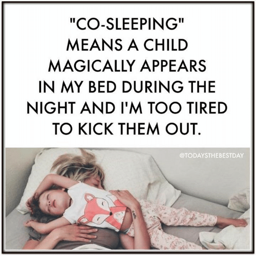 Image result for co-sleeping meme