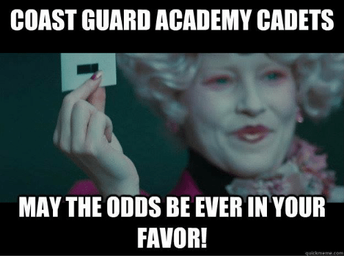 What are my Chances of getting in to the Coast Guard Academy?