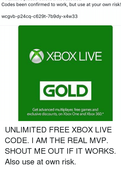 Real free xbox codes