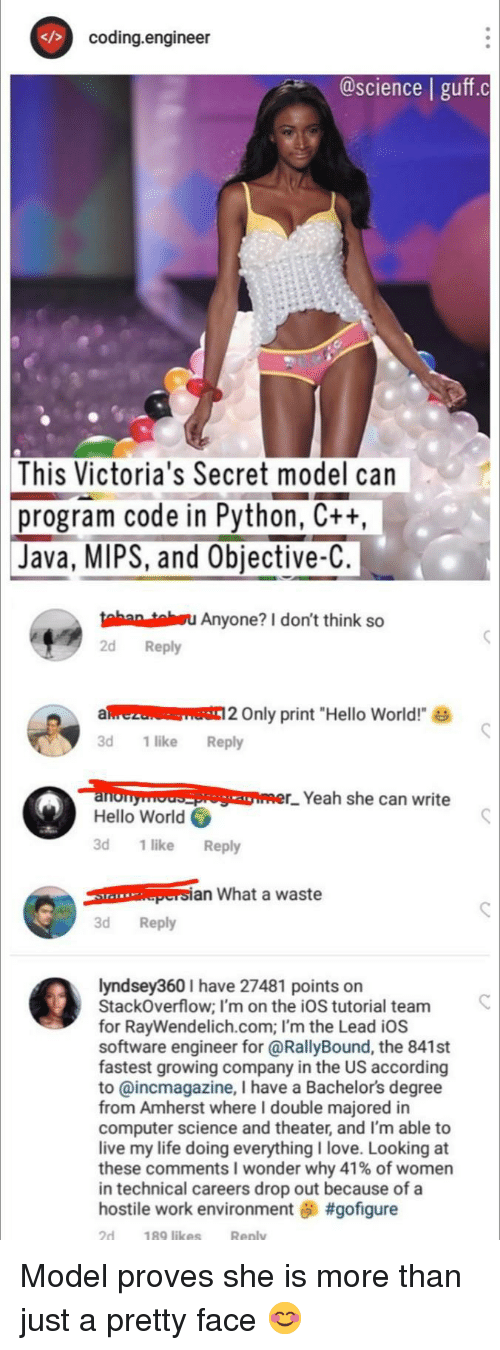 """Victoria's Secret: coding.engineer  @science 