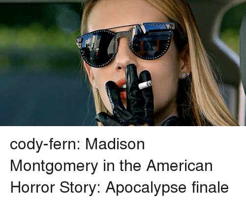 American Horror Story: cody-fern:  Madison Montgomery in theAmerican Horror Story: Apocalypse finale
