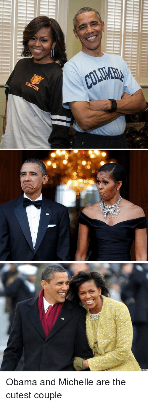 Obama, Xxx, and Ares: COLIMBa Obama and Michelle are the cutest couple